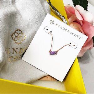 Kendra Scott • Jayde Purple Kyocera Opal Necklace
